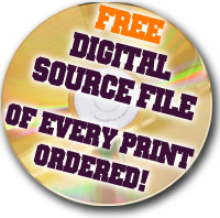 FREE digital source file of every print ordered!